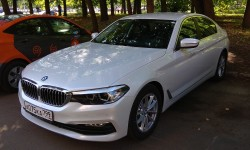 BMW 520i в Яндекс.Драйв