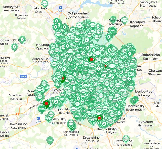 Ситидрайв в Москве