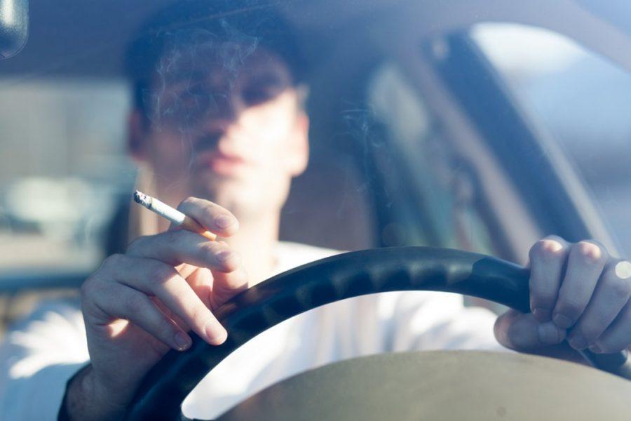 Курение в авто