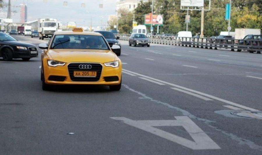 Такси на выделенной полосе
