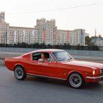 Ford Mustang 1965 в Яндекс.Драйв