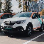 Renault Sandero в Делимобиль